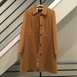 J. Crew Italian Double Cloth Wool Lady Day Coat